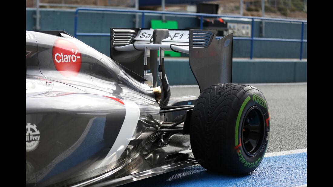 Sauber - Jerez-Test - Formel 1 - 2014