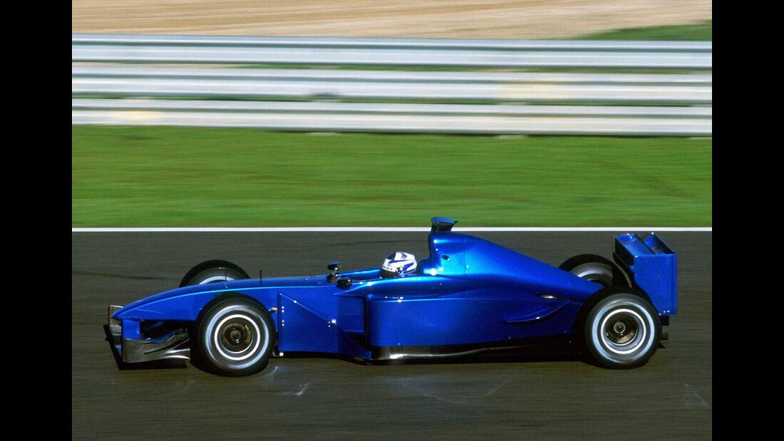 Sauber - Kimi Räikkönen - F1-Test - 2001