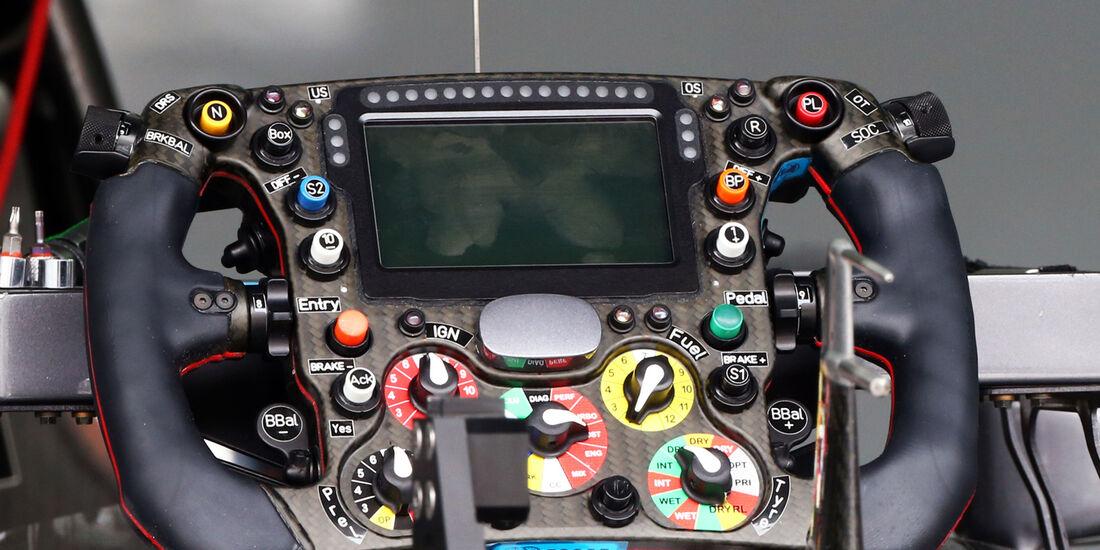 Sauber-Lenkrad - Formel 1 - GP Malaysia - Sepang - 29. März 2014