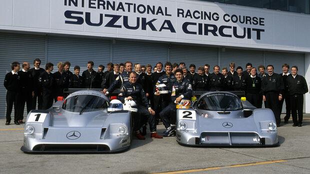 Sauber Mercedes C11 / C291 - Suzuka - 1991