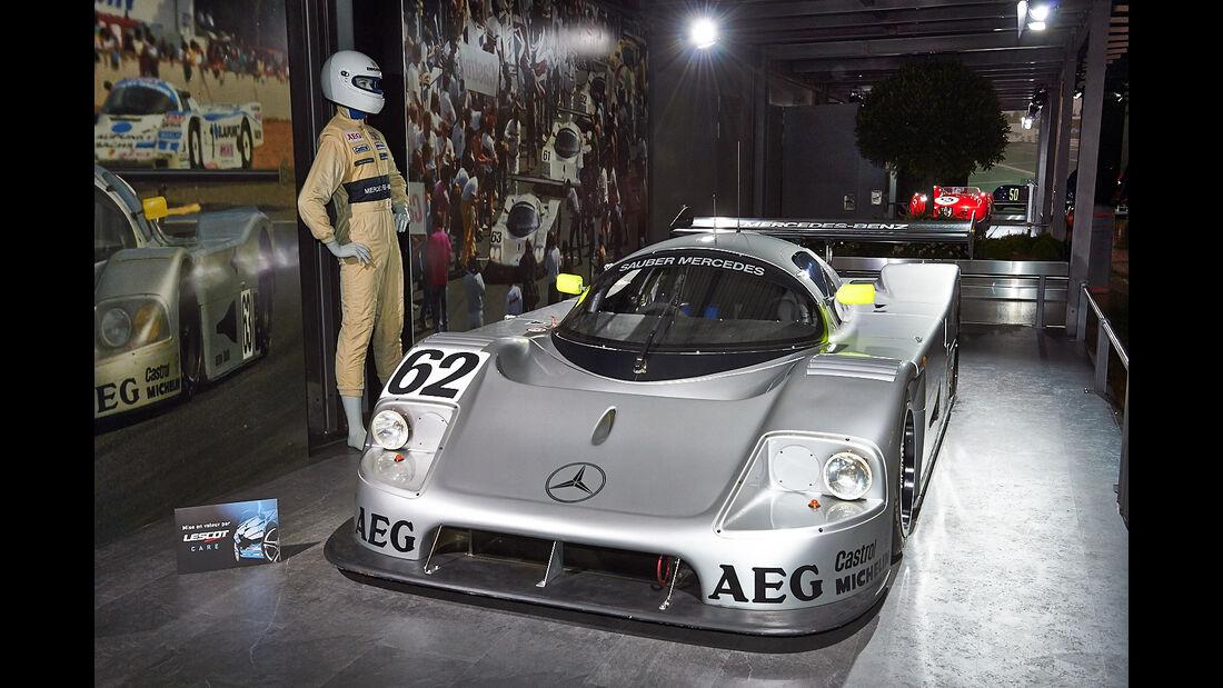 Sauber Mercedes C9 - Autosalon Genf 2014