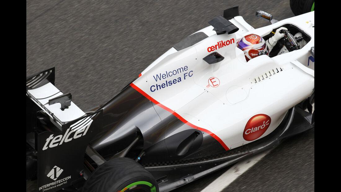 Sauber Mugello 2012 Formel 1 Technik