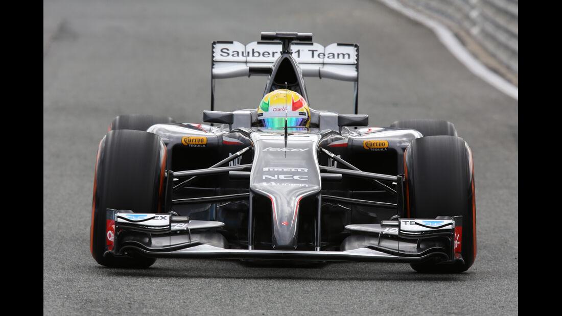 Sauber - Nase - Formel 1 - Jerez-Test - 2014