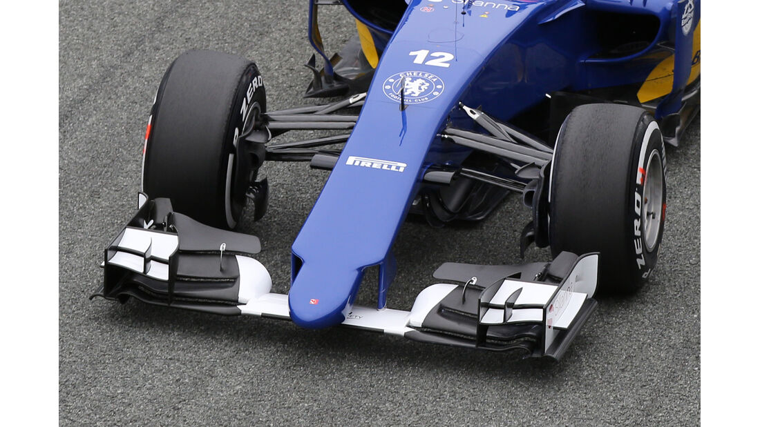 Sauber - Nasenkamera - Jerez - 2015