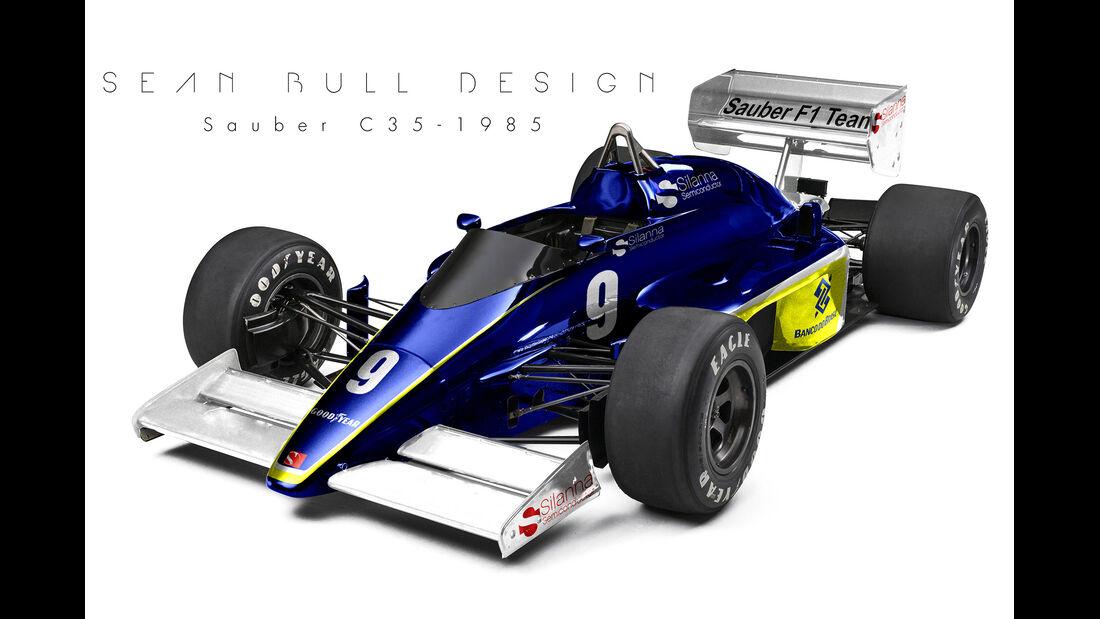 Sauber - Retro F1 - Sean Bull