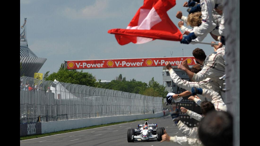 Sauber-Sieg in Montreal