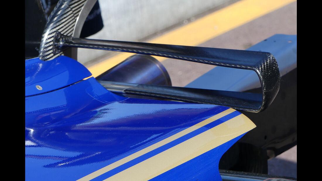 Sauber - T-Flügel - F1-Technik - GP Monaco 2017