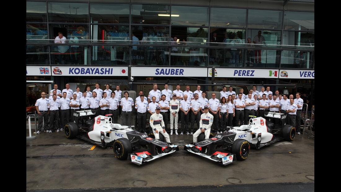 Sauber-Teamfoto - GP Australien - Melbourne - 16. März 2012