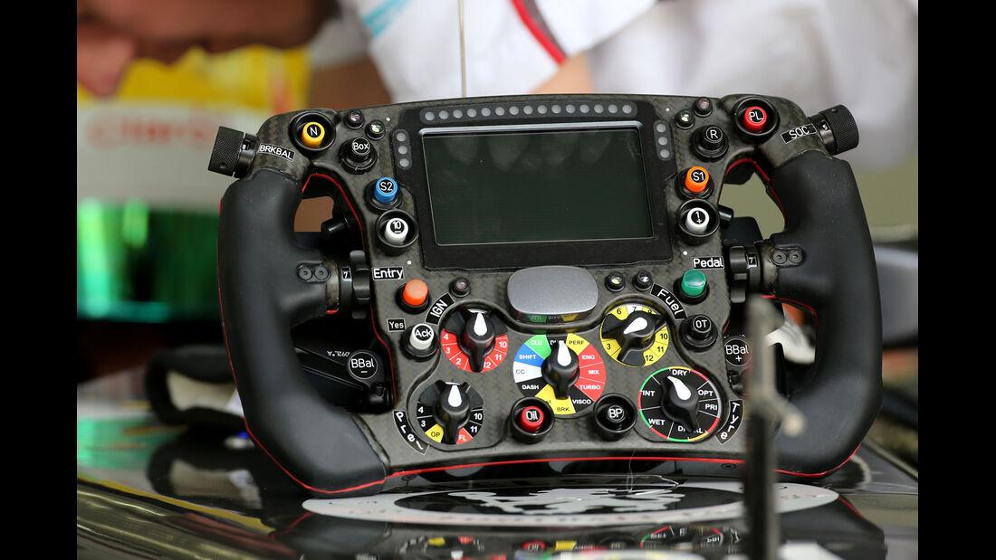 Sauber - Technik - Bahrain Test 2 - 2014