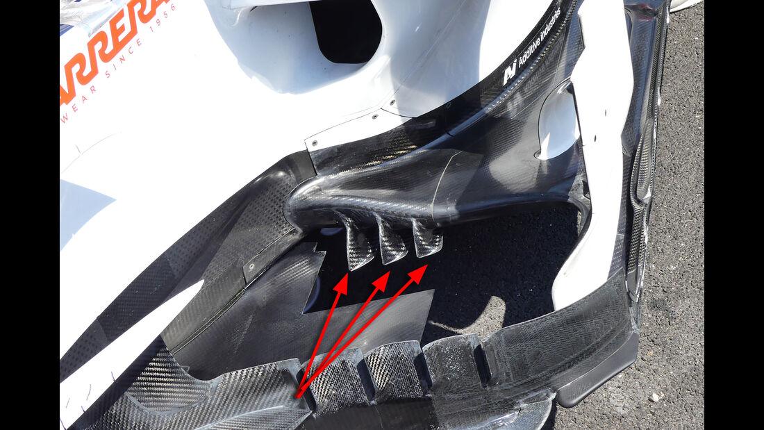 Sauber - Technik - Formel 1 - 2018