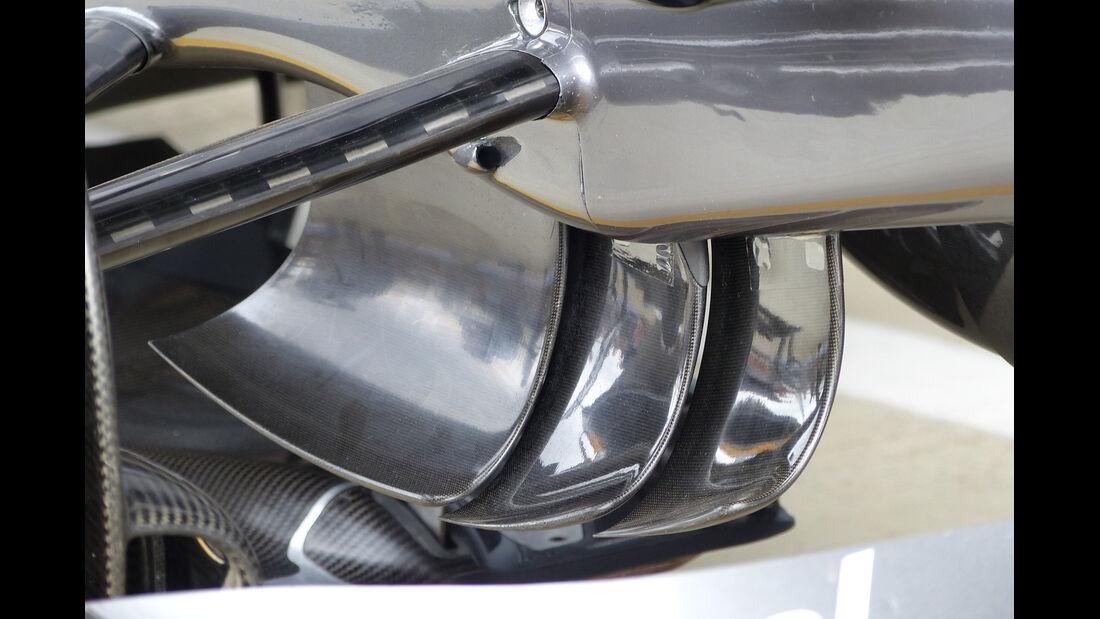 Sauber - Technik - GP England 2014