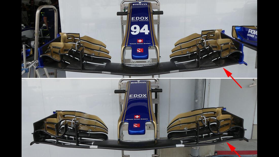 Sauber - Technik - GP Malaysia / Japan 2017