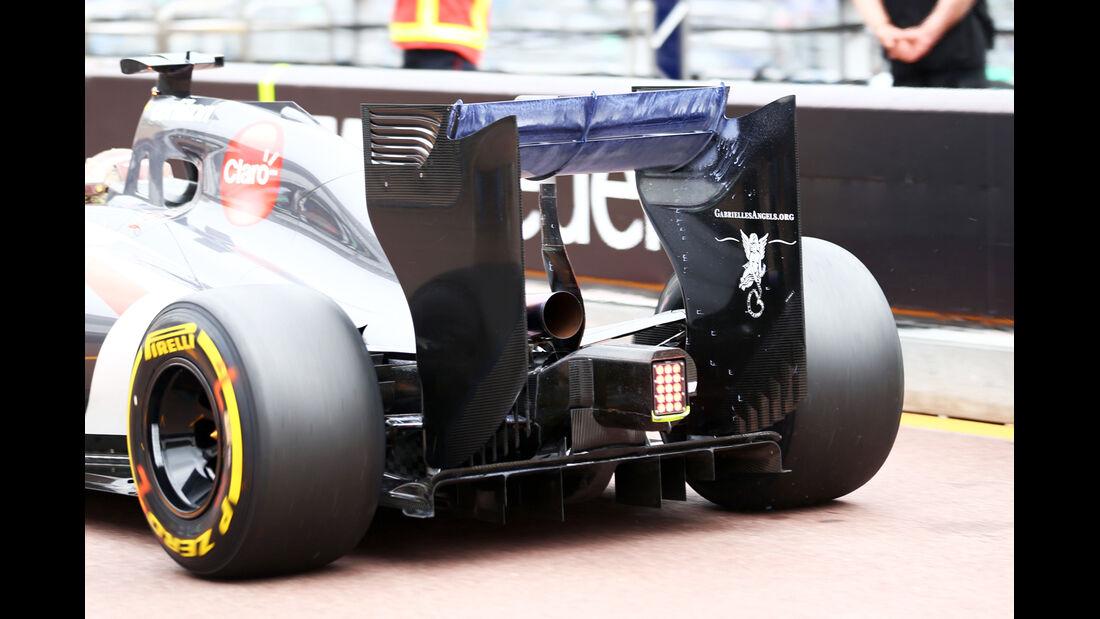 Sauber - Technik - GP Monaco 2014