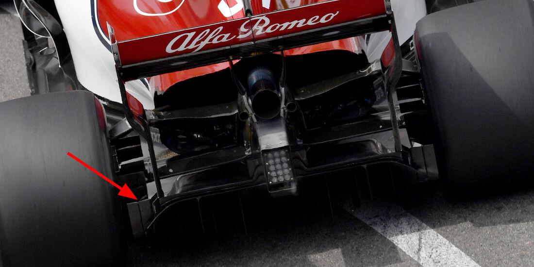 Sauber - Technik - GP Monaco 2018
