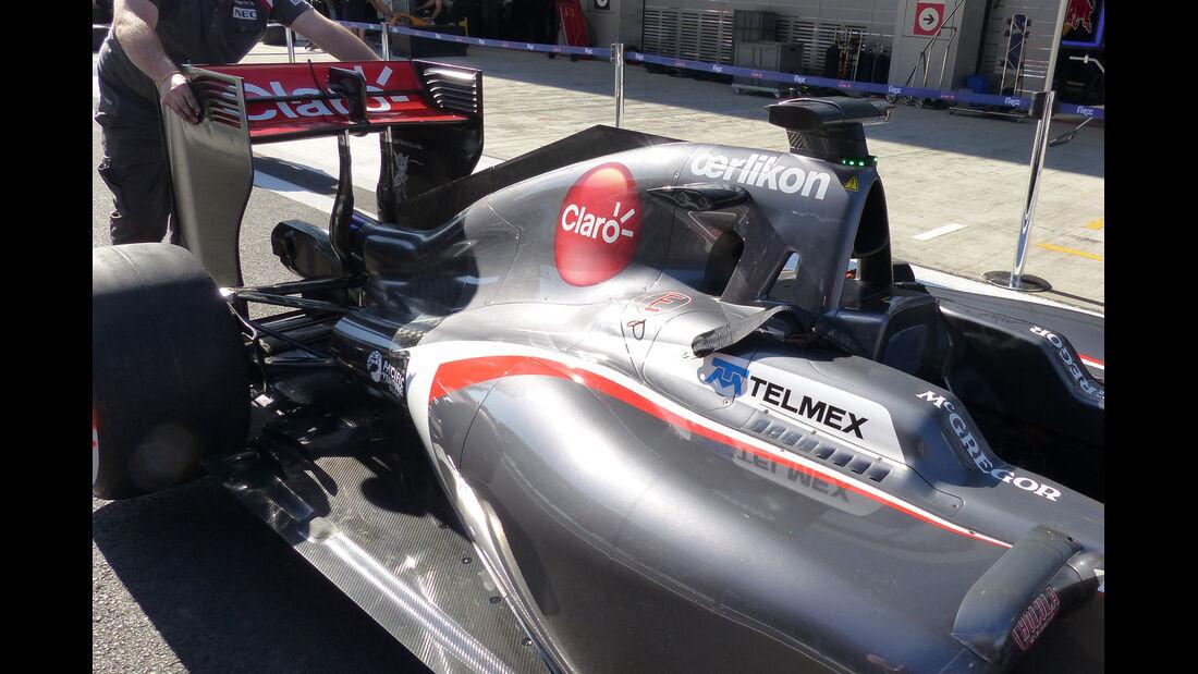 Sauber - Technik - GP Russland 2014