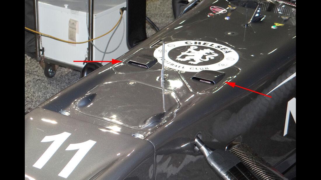 Sauber - Technik - GP Singapur 2013