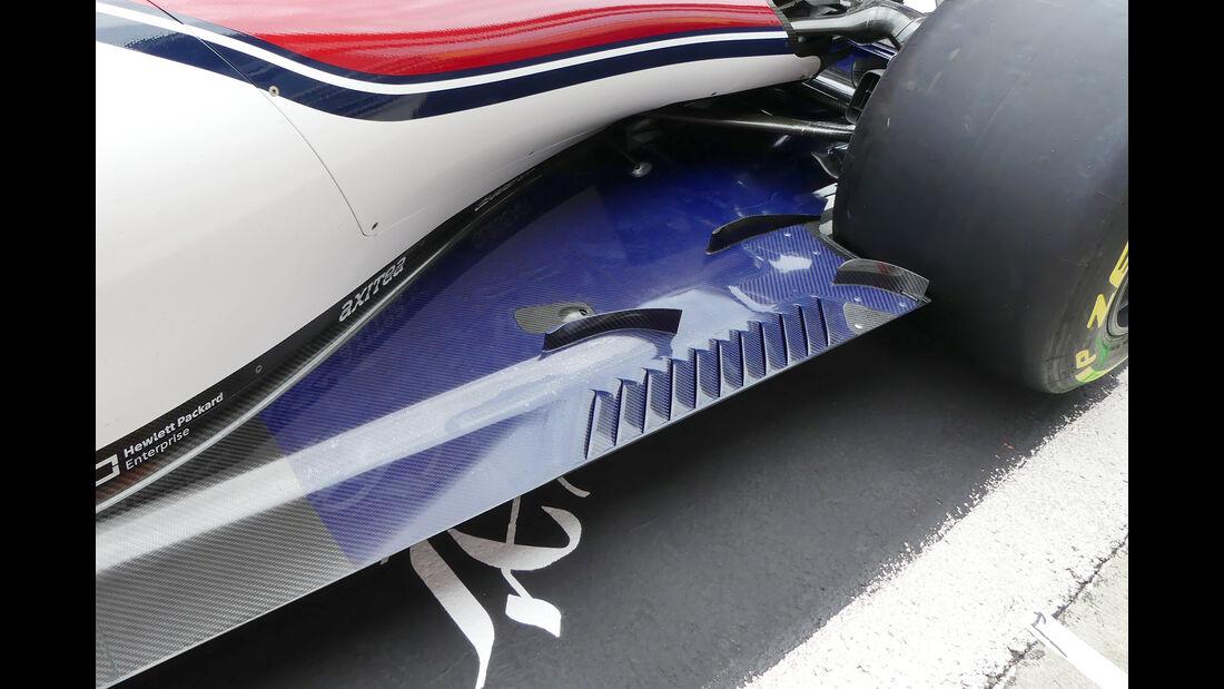 Sauber - Technik - GP Singapur, Russland & Japan 2018