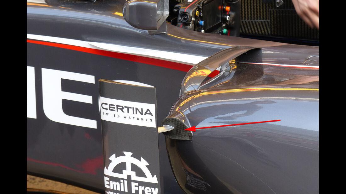 Sauber - Technik - GP Spanien 2014