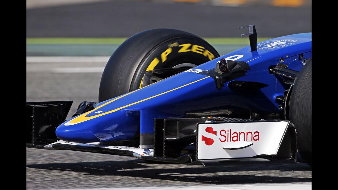 Sauber - Technik - GP Spanien 2015