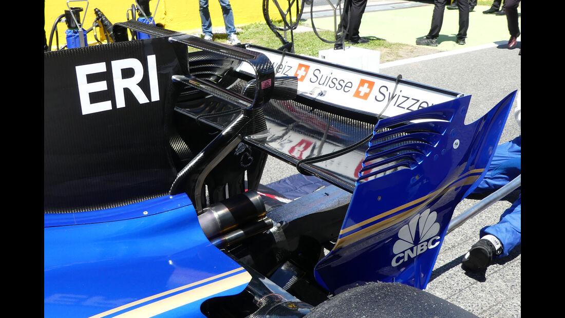 Sauber - Technik - GP Spanien 2017