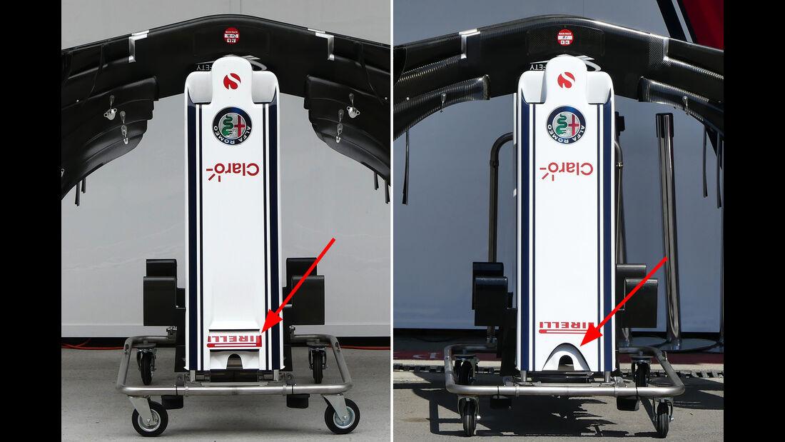 Sauber - Technik - GP Spanien 2018
