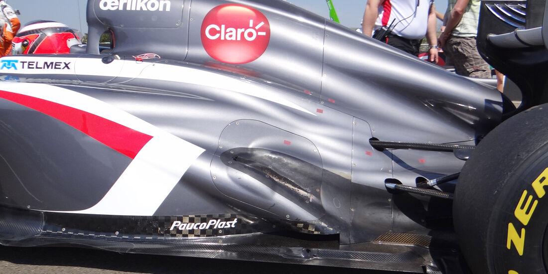 Sauber - Technik - GP Ungarn 2013
