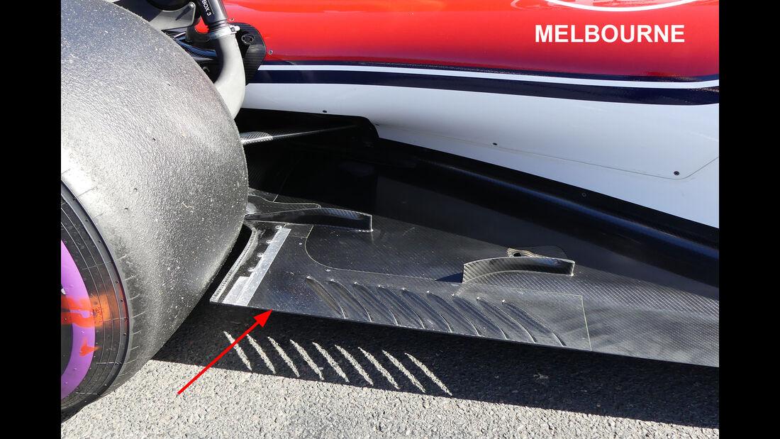 Sauber - Technik-Upgrades - GP Australien 2018