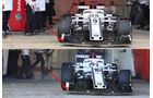 Sauber - Upgrades - Formel 1 - Test - Barcelona - 2018