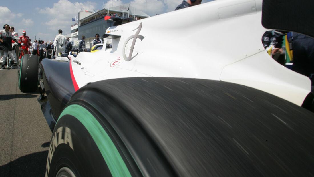 Sauber beim GP Ungarn