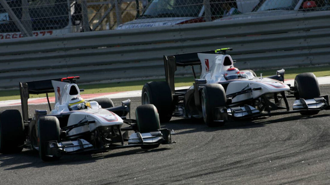 Sauber in Bahrain