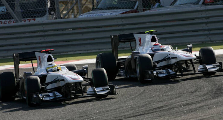 Sauber in Bahrain
