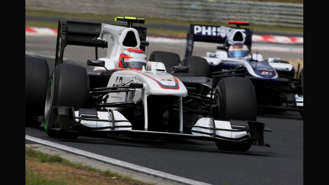Sauber und Williams
