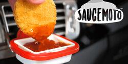Saucemoto Dipschale Lüftungsgitter Kickstarter