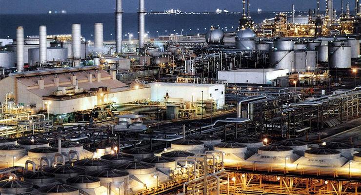 Saudi-Arabien Öl-Raffinerie