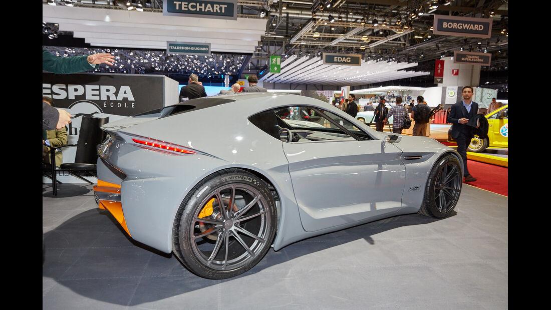 Sbarro Aria - Genfer Autosalon 2015