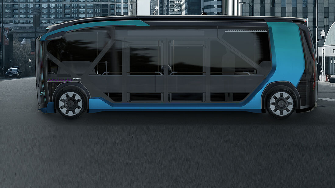 Scania NXT concept