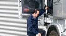 Scania R 730 Topline, Einstieg