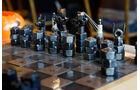 Schachspiel aus Muttern