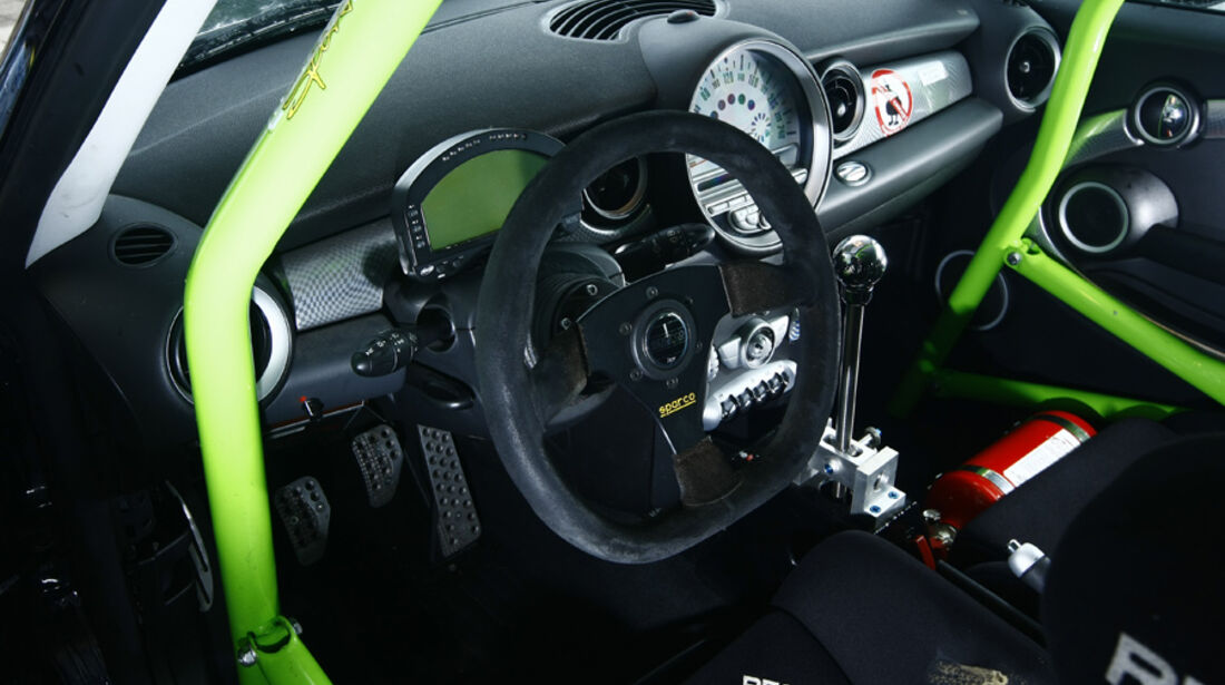Schäfer-Mini Cooper S Clubsport, Cockpit