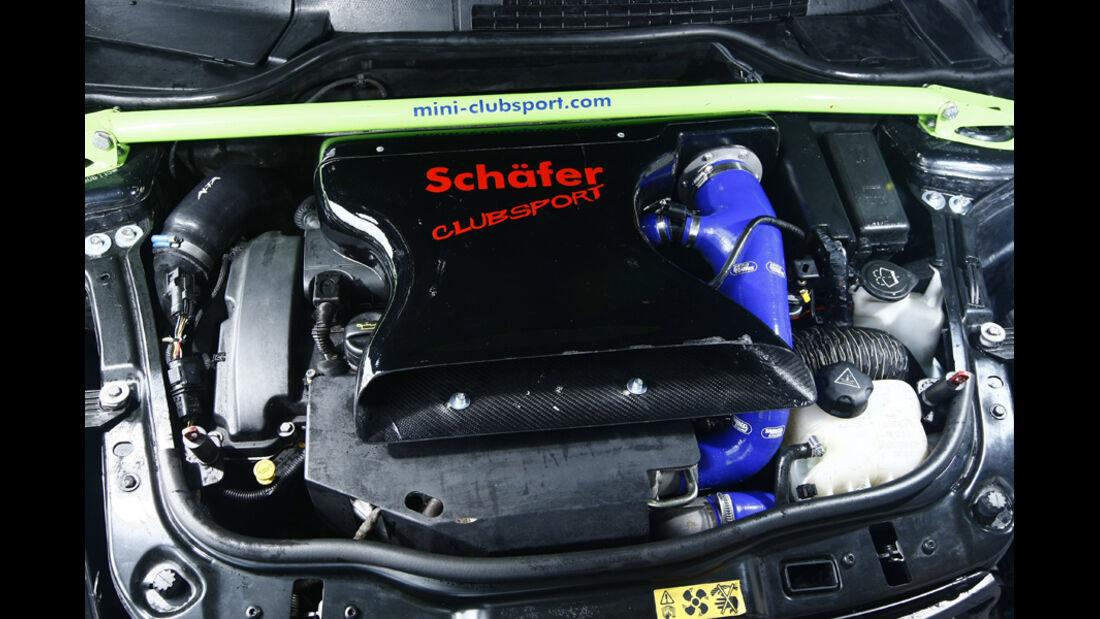 Schäfer-Mini Cooper S Clubsport, Motor