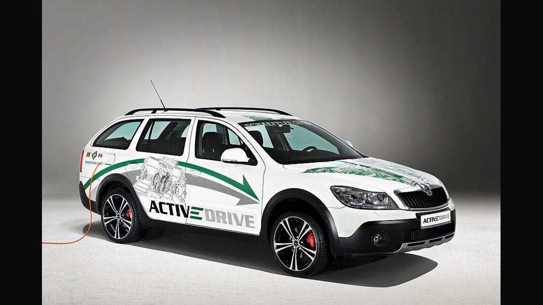 Schaeffler ACTIVeDRIVE Konzeptfahrzeug