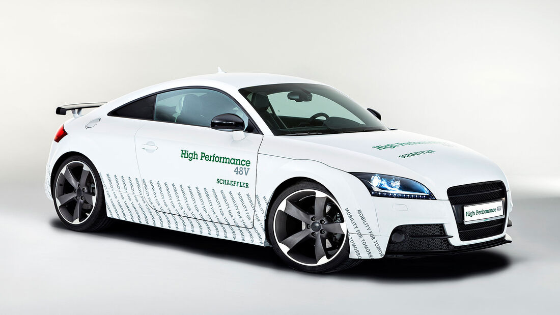 Schaeffler High Performance 48 Volt Audi TT