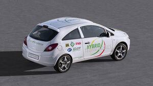 Schaeffler Hybrid, Elektroauto, Plug-In, E-Auto, Opel Corsa