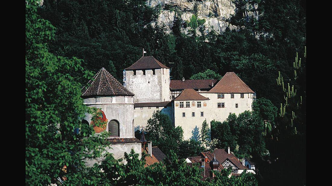 Schattenburg und Katzenturm, Feldkirch