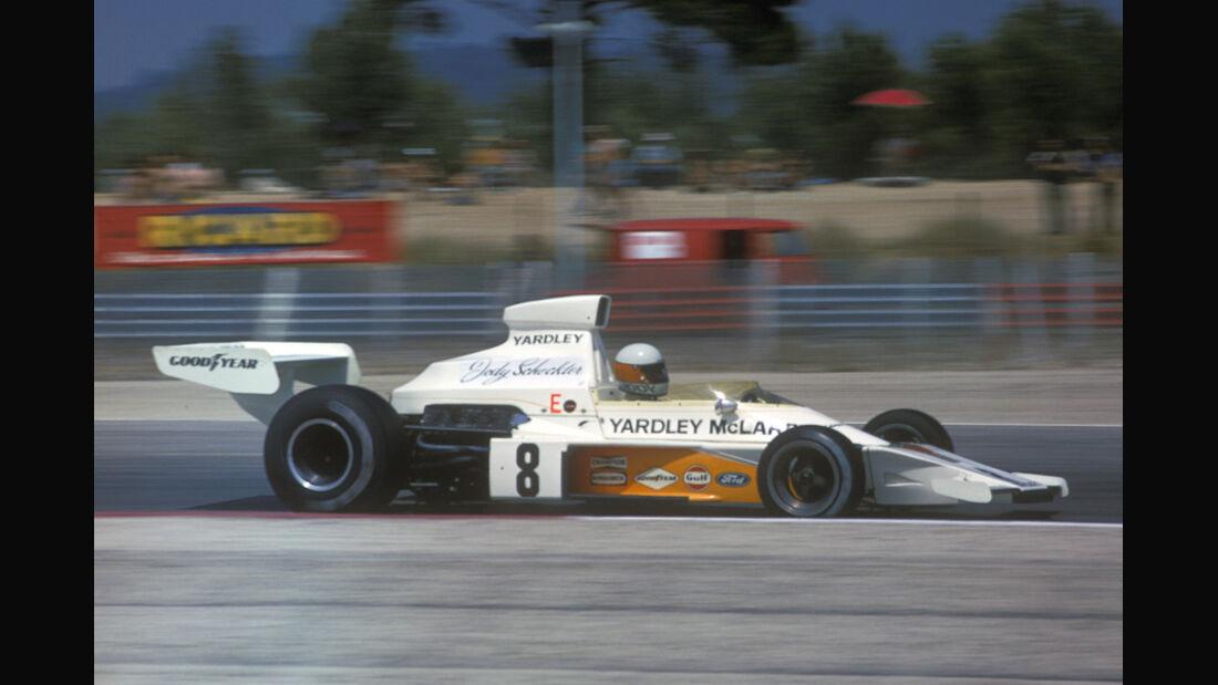 Scheckter - McLaren 1973