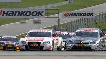 Scheider, Audi A4 DTM, Green, Mercedes C-Klasse DTM, DTM, Spielberg, 2011
