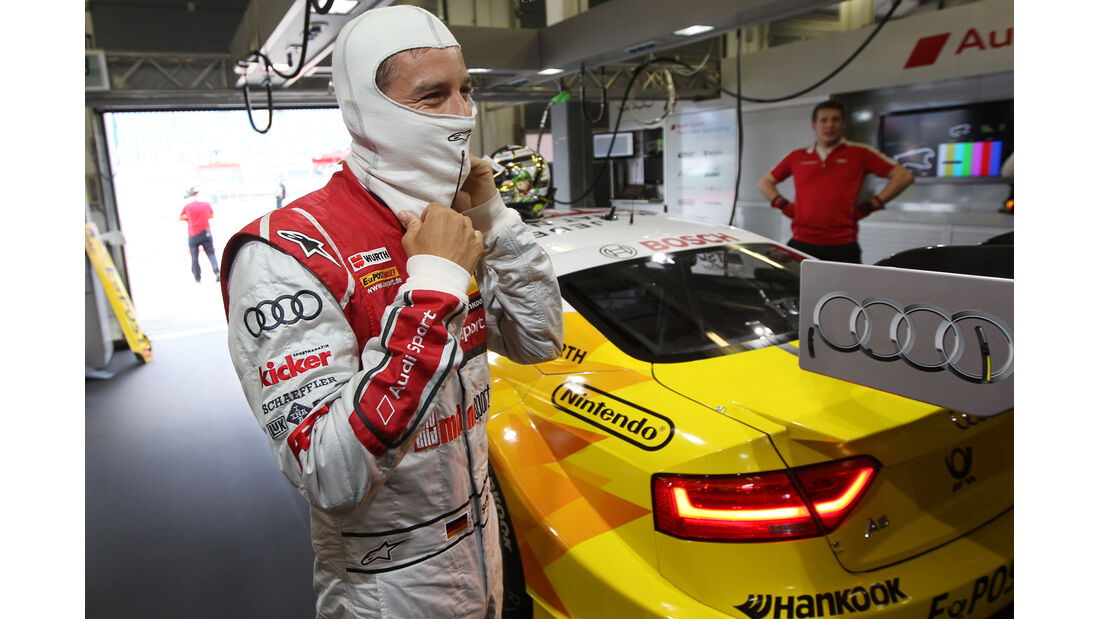 Scheider Audi DTM Lausitzring 2012