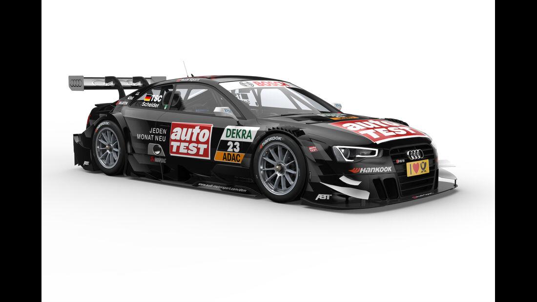 Scheider Audi RS5 DTM 2013