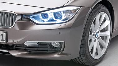 Scheinwerfer, BMW Dreier