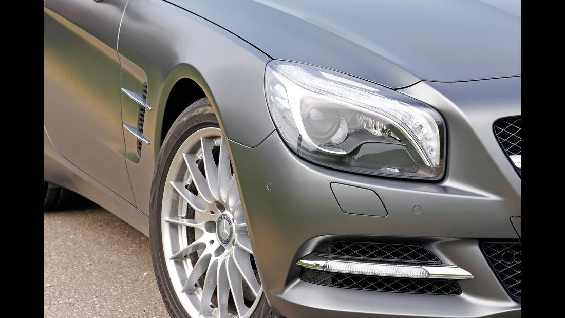 Scheinwerfer, Mercedes SL